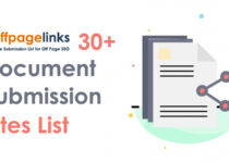 Document Submission Sites List