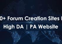 Forum Creation Sites List